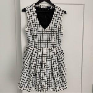 Forever 21 Grid Dress